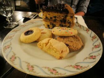 High Tea en Alices Tea Cup - galletas