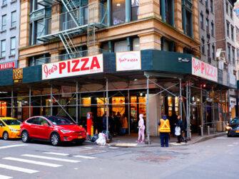La mejor pizza de Nueva York - Joe's Pizza