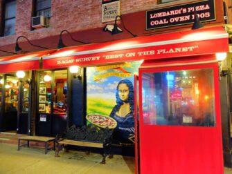 La mejor pizza de Nueva York - Lombardi's Pizza