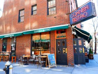 Las mejores hamburguesas de Nueva York - Corner Bistro