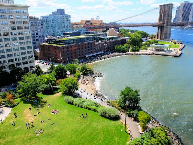 Parques en Nueva York - Brooklyn Bridge Park