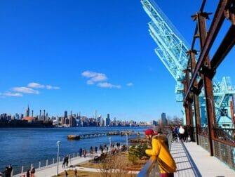 Parques en Nueva York - Paseo elevado en Domino Park