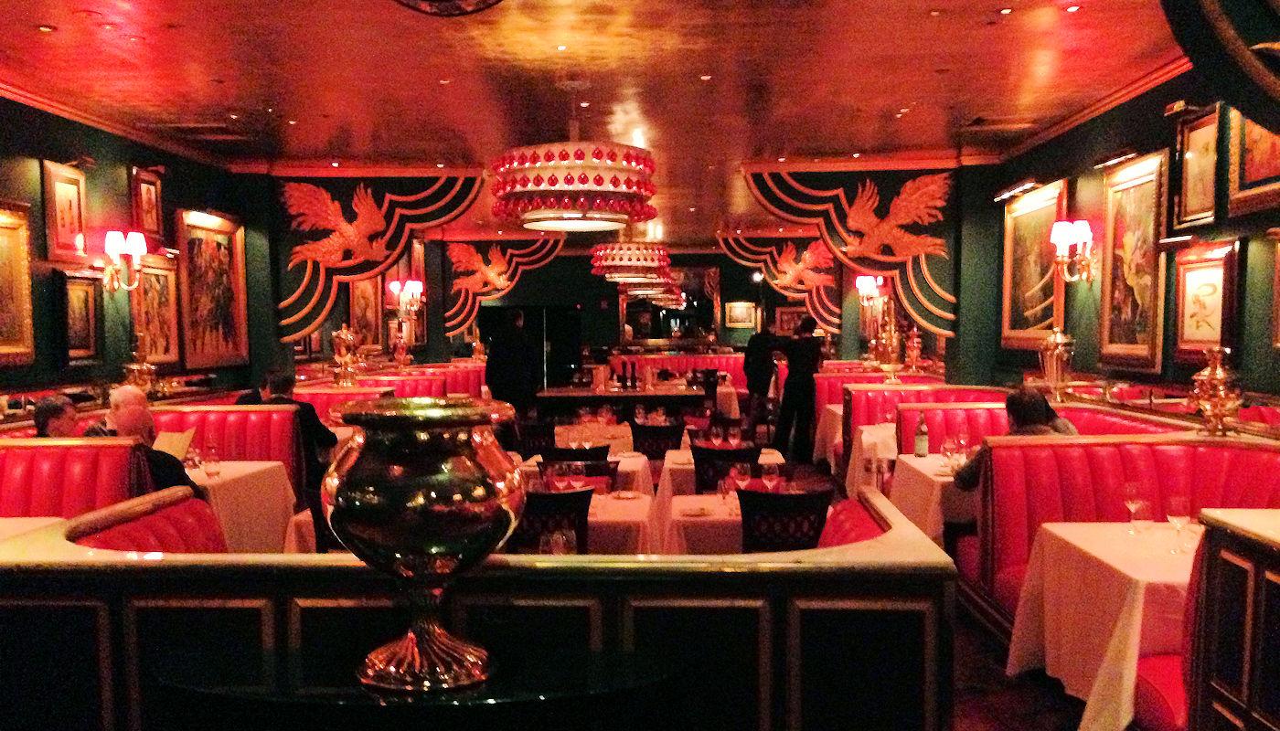 Russian Tea Room en Nueva York - Interior
