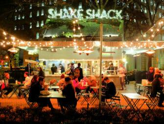 Las mejores hamburguesas de Nueva York - Shake Shack