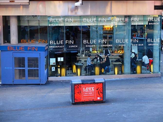 El mejor sushi de Nueva York - Blue Fin