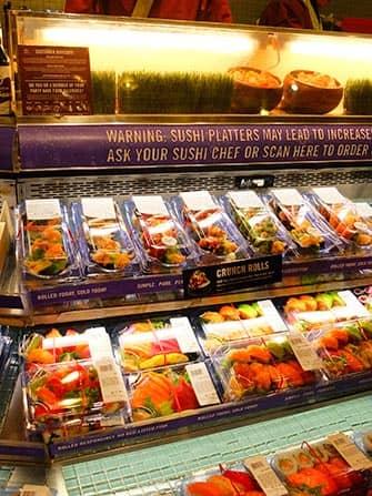 El mejor sushi de Nueva York - Whole Foods