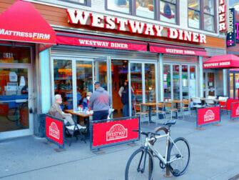 Desayunar en Nueva York - Exterior de Westway Diner