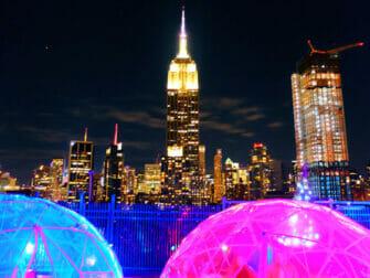 Bares rooftop en Nueva York - 230 Fifth y Empire State