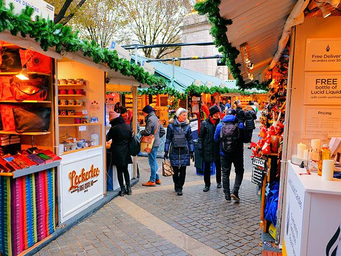 Navidades en Nueva York - Mercado navideño