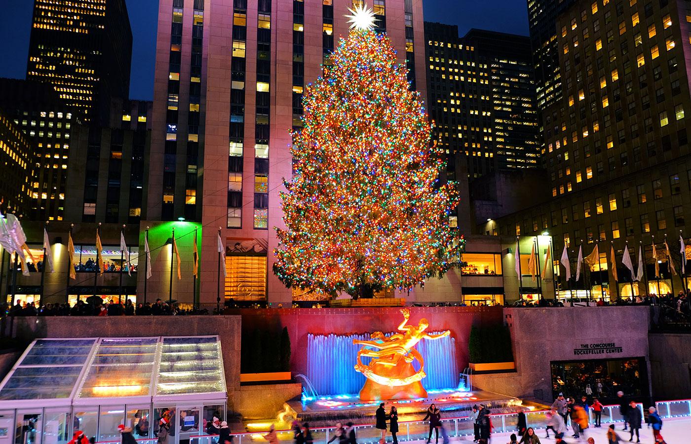 Navidades en Nueva York - Árbol del Rockefeller