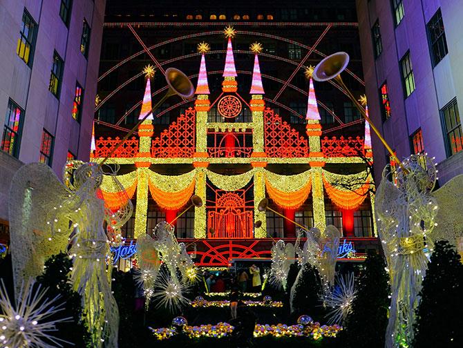 Navidades en Nueva York - Saks