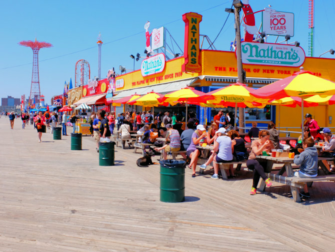 Memorial Day in New York - Coney Island Boardwalk