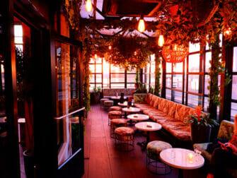 Bares rooftop en Nueva York - Gansevoort Hotel
