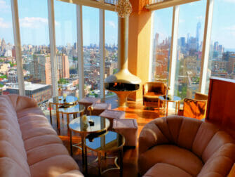 Rooftop Bars en Nueva York - Vistas The Top of the Standard
