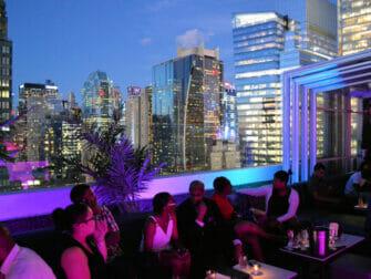 Bar rooftop en Nueva York - vista desde el Skyroom