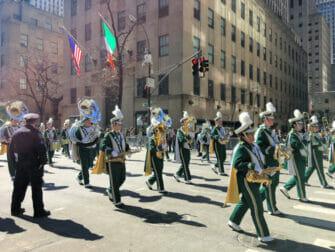 St Patricks Day en NYC - desfile