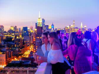 Los mejores bares rooftop en Nueva York - Atardecer en The Roof