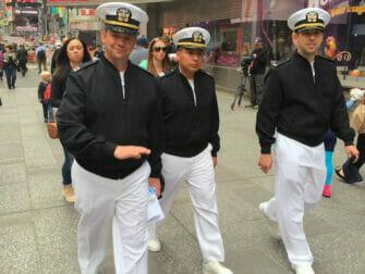 Fleet Week en NYC - marineros