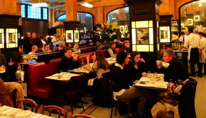 Restaurantes y bares románticos en Nueva York - Balthazar
