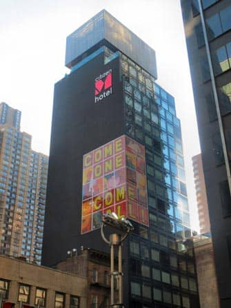 citizenM Hotel en NYC - edificio