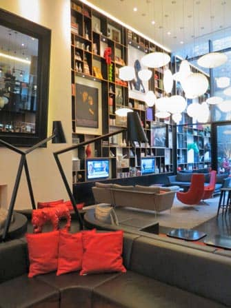 citizenM Hotel en NYC - Lounge