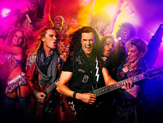 Tickets para Rock of Ages the Musical en Nueva York - Banda de rock