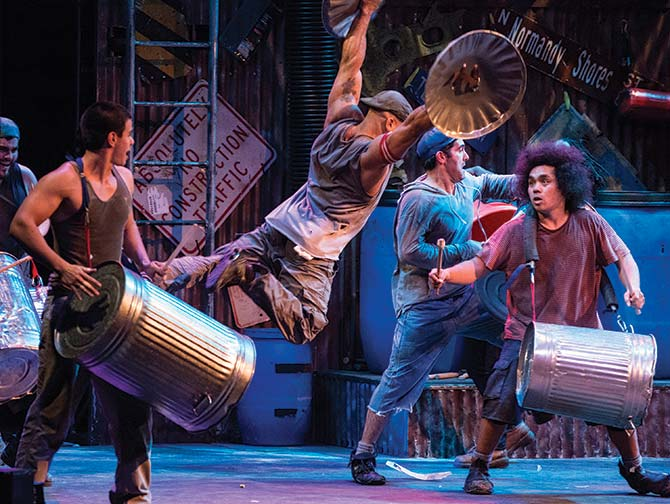 Tickets para STOMP en Nueva York - Papeleras