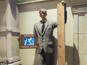 Museo Ripley's Believe It or Not! en Nueva York - el hombre mas alto