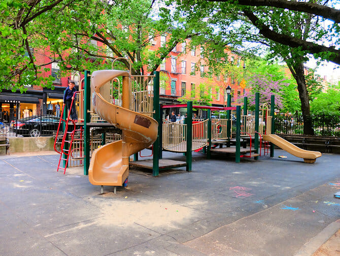 Parques en NYC - Bleeckerstreet