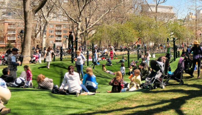 Parques en NYC - Washington Square Playground