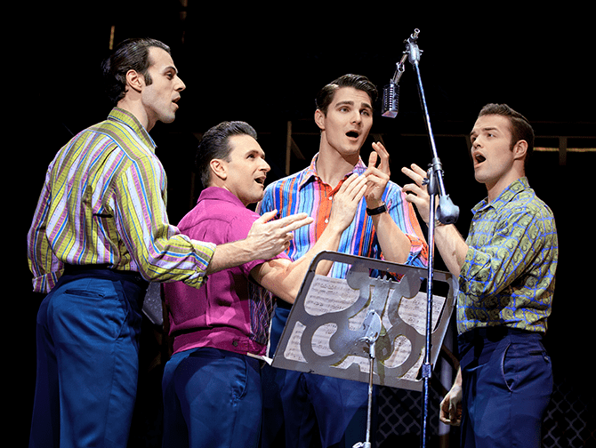 Tickets para Jersey Boys en Nueva York - Frankie Valli and The Four Seasons