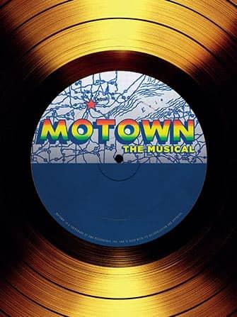 Motown el musical en Nueva York - disco