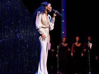 Motown el musical en Nueva York - actriz