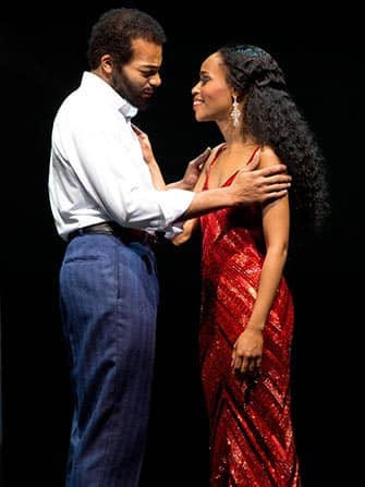 Motown el musical en Nueva York - actores