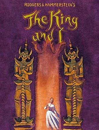 The King and I en Broadway - Poster