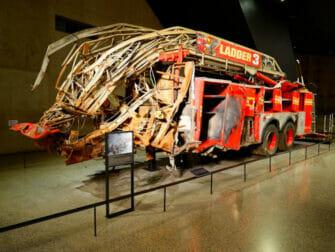 Museo del 11-S en Nueva York - Camion de bomberos