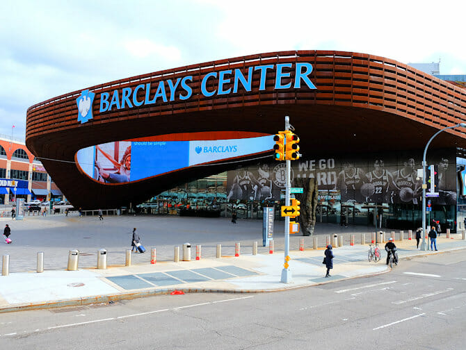 Tour por Brooklyn - Barclays Center
