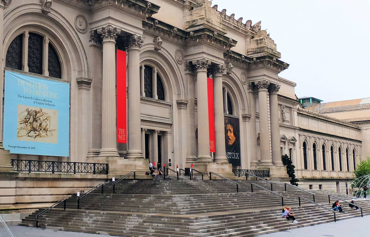 Tour Gossip Girl - Escalones The Met