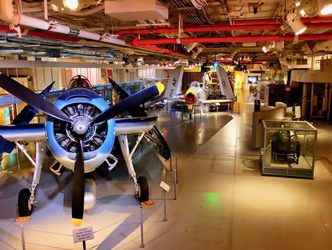 Intrepid Sea, Air and Space Museum en Nueva York - Dentro del museo