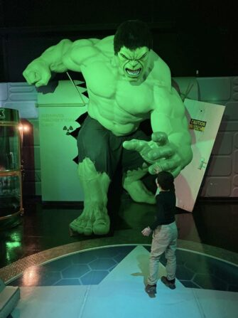 Madame Tussauds en Nueva York - The Hulk