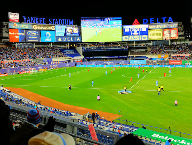 Tickets para el New York City FC - Yankee Stadium