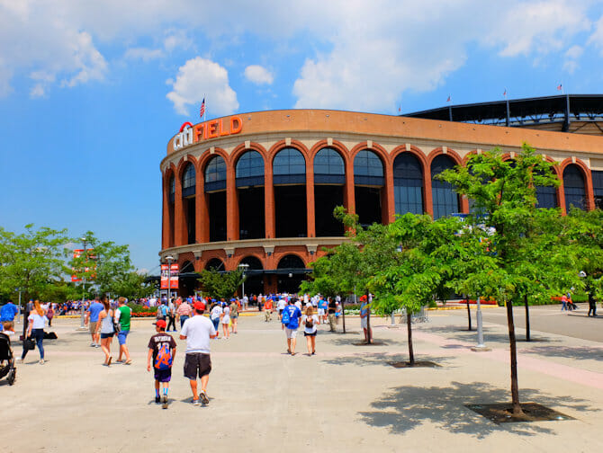 Tickets para los New York Mets - Estadio