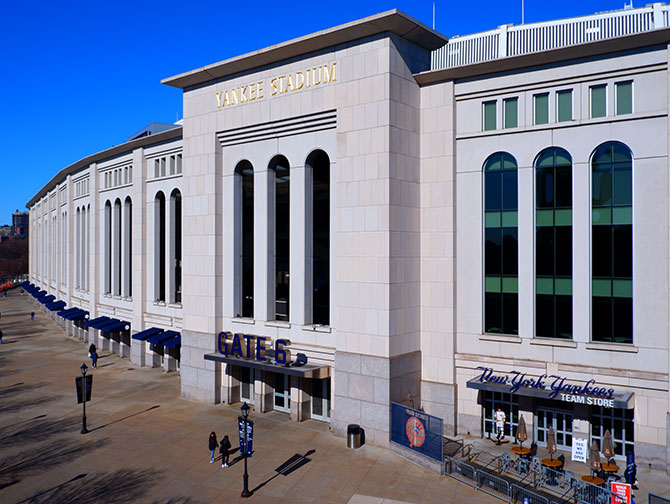 Tickets para los New York Yankees - Yankee Stadium