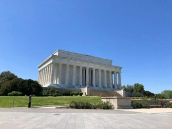New York to Amish Country Philadelphia and Washington D C 2 day trip Lincoln Memorial