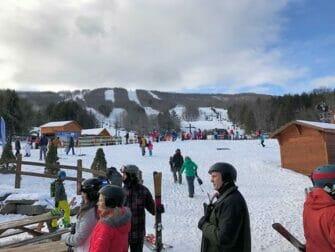 Esquiar o hacer snowboard en Nueva York - Hunter Mountain