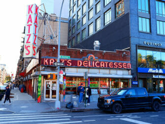 Lower East Side en NYC - Katzs Deli