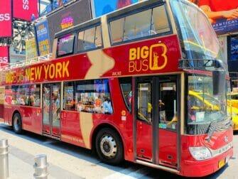 Bus hop on hop off en Nueva York - Big Bus