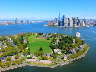 New York Helicopter Tour Routes Govenors Island