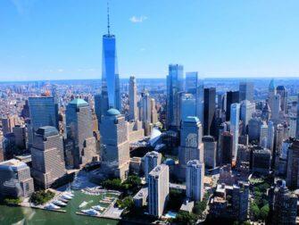 Rutas de vuelos en helicoptero por Nueva York - Manhattan Skyline