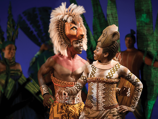 Tickets para The Lion King en Broadway - Simba y Nala